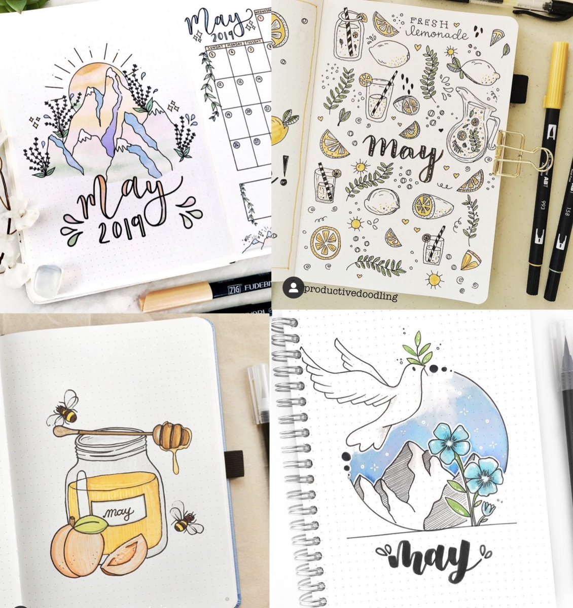 May Bullet Journal Inspiration   Rae's Daily Page